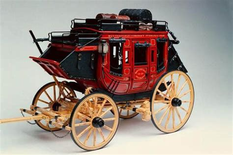 concord stagecoach  scale model horse drawn vehicle