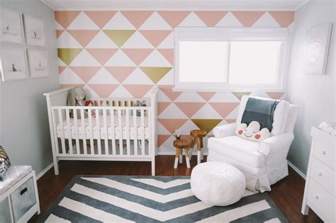 Triangle Nursery Decor Project Nursery Gray Nursery Decor