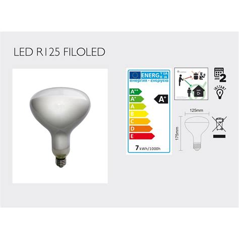 ladina led r125 dimmerabile 7w per lada parentesi e luminator flos ebay