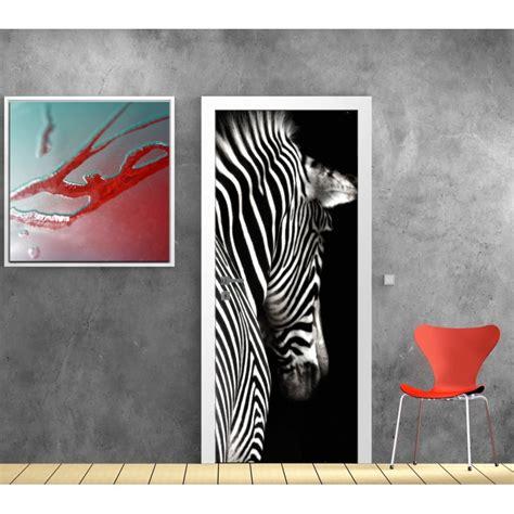 Tapisserie Zebre by Papier Peint Porte D 233 Co Z 232 Bre D 233 Co Stickers