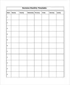 Template Revision Timetable by Free Worksheets 187 Printable Revision Timetable Free Math