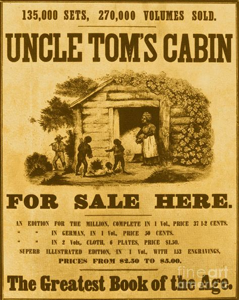 uncles tom cabin toms cabin poster by photo researchers