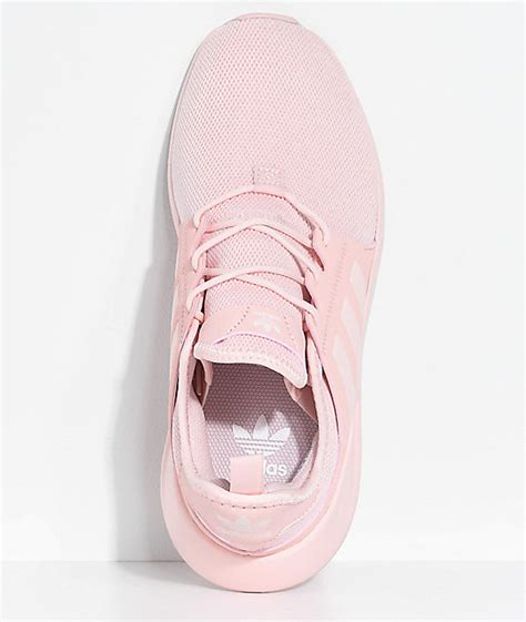 adidas youth xplorer icey pink shoes zumiez
