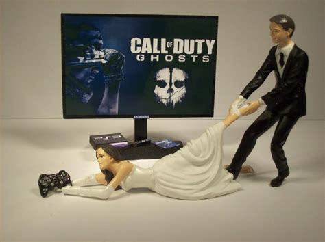 Hochzeitstorte Gamer by Gamer Call Of Duty Ghosts Ps3 And Groom