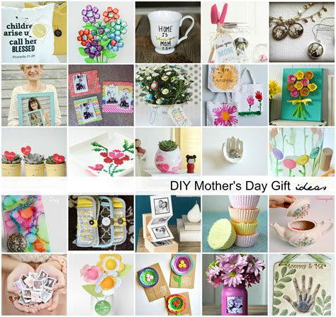 Handmade Mothers Day Presents - handmade s day gift ideas the idea room