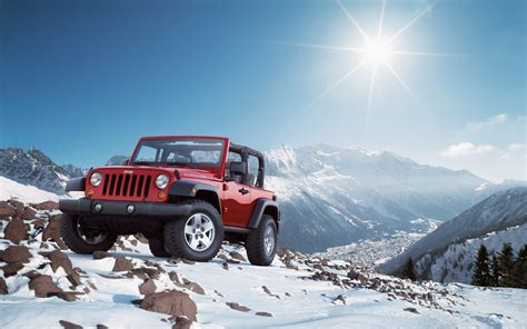 Jeep Wrangler Snow Wallpaper Cars Wallpaper Better