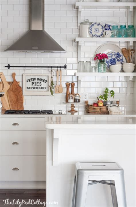 Kitchen Shelves Vs Cabinets Open Shelving Vs Cabinets So Much Better With Age