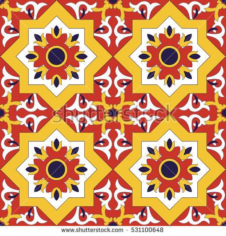 Traditional Mexican Tile Patterns Pixshark
