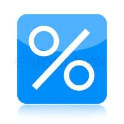 kredit hypothek discount prozent ii isoliert auf wei 223 em hintergrund stockfoto