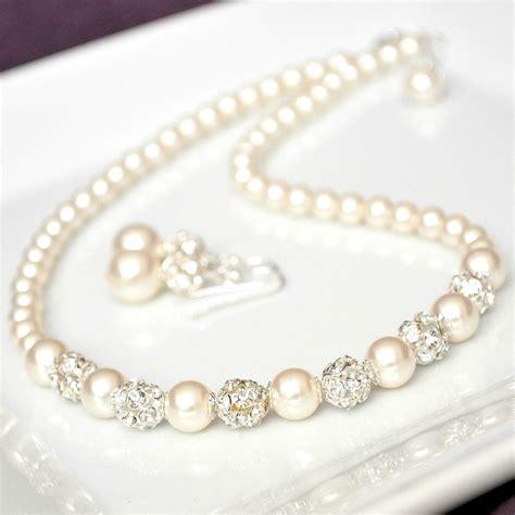 Wedding Jewellery by Bridal Jewelry Set Swarovski Bridal Jewelry Set Rhinestone