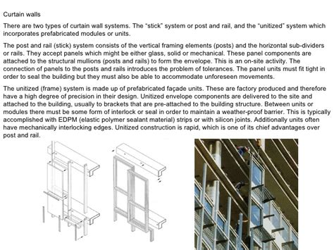 curtain wall system types l9 envelope pt 1