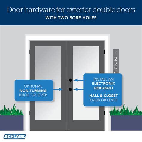 choose door locks  french doors