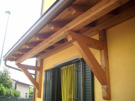 tettoie a sbalzo in legno pensilina in legno lamellare a sbalzo cologno monzese