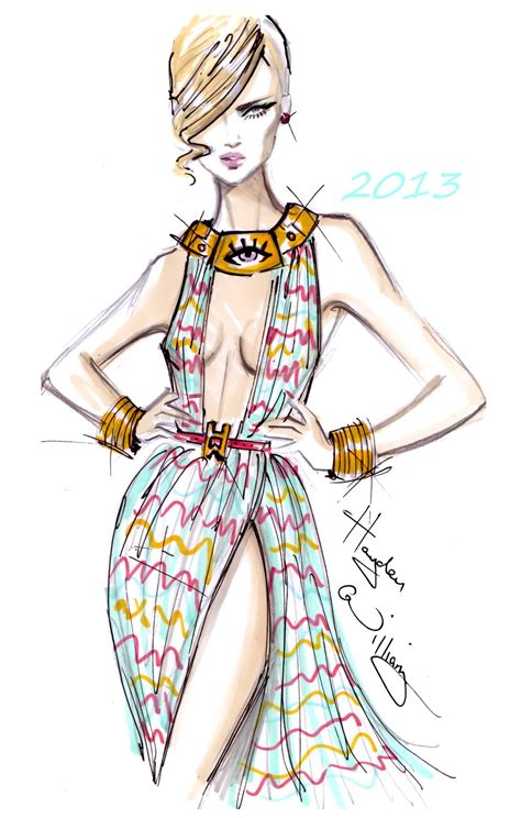 fashion illustration hayden williams fashion illustrations january 2013