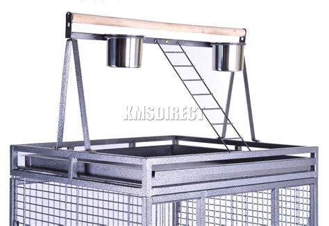 grande gabbia per uccelli foxhunter in metallo grande gabbia per uccelli con