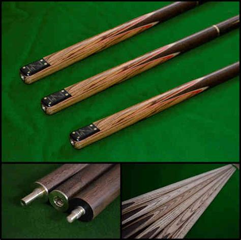 Handmade Pool Cues Uk - handmade snooker cues and sets bennetts direct ltd