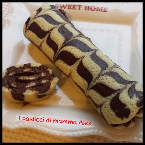 decorare rotolo dolce rotolo decorato alla nutella i pasticci di mamma alex