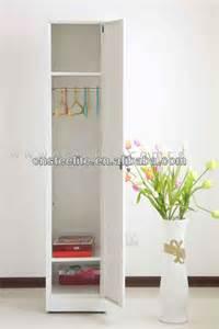 Slim White Wardrobe Slim Freestanding 1 Door Steel Almirah Cabinet Designs For