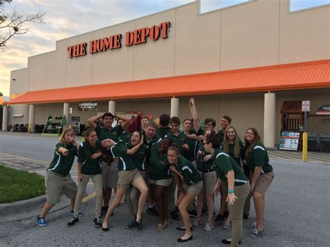 home depot community outreach gig at 6am