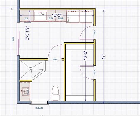 bathroom layout designer installing a basement bathroom