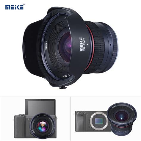 Jual Kamera Mirrorless Sony A5000 by Meike Mk 12mm F2 8 72mm Aps C Weitwinkel Manueller Fokus