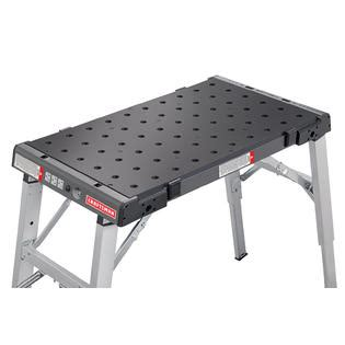 portable work bench craftsman portable durable peg cling workbench movable folding work table ebay