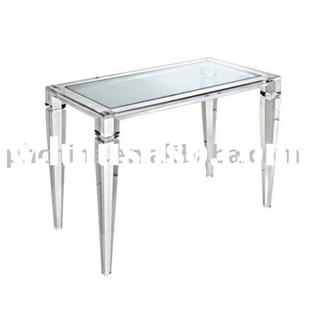 Clear Vanity Table Clear Acrylic King George Vanity Table Clear Acrylic Vanity Clear Lucite Table Organic Glass