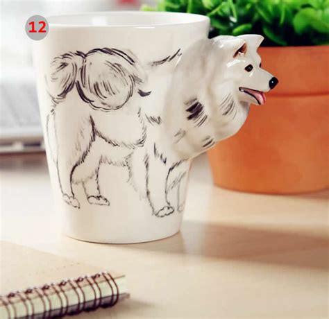 animal shaped mugs hand painted animal shaped coffee mug feelgift
