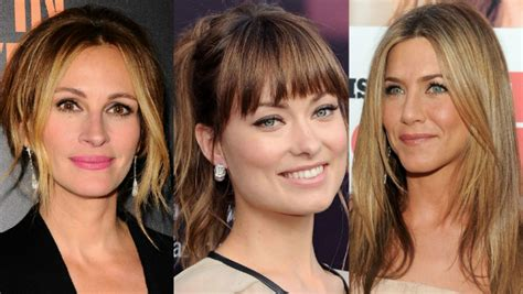 find out what haircut suits you how to cut your bangs according to your face shape