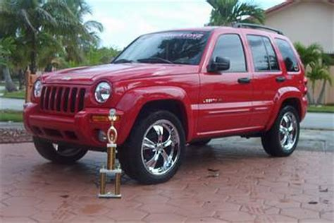 2002 Jeep Liberty Rims 2002 Jeep Liberty On 20 Inch Chrome Rims