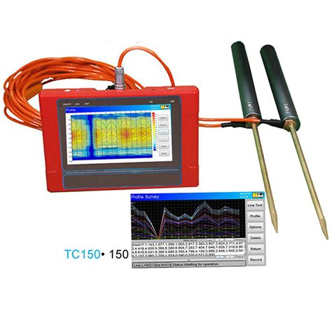 automatic mapping pqwt tc150 automatic mapping underground water detector