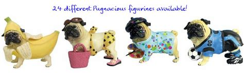 pug collectables pugs dogbreed gifts pug figurines sculptures