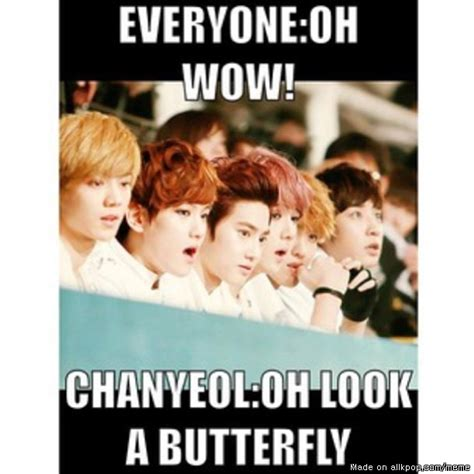 Exo Funny Memes - troll chanyeol best meme center chanyeol and exo ideas