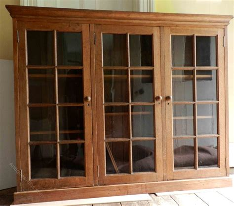 Glass Fronted Bookcases by A 1920s Glass Fronted Oak Bookcase Antiques Atlas