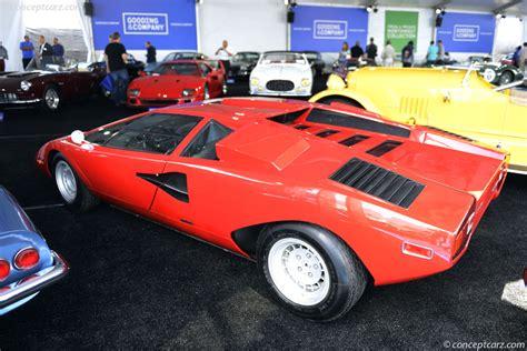 74 Lamborghini Countach 1974 Lamborghini Countach At The Gooding Company