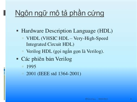 high speed integrated circuit hardware description language book tổng quan về fpga
