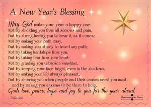 a blessing for the new year ramblings of the claury