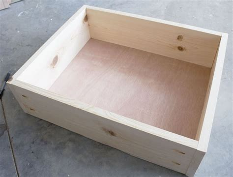 costruire un cassetto come costruire una cassettiera legno istruzioni per