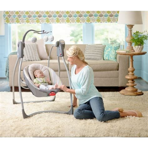 using a swing for baby to sleep every parent s guide in using baby swings blog for mom