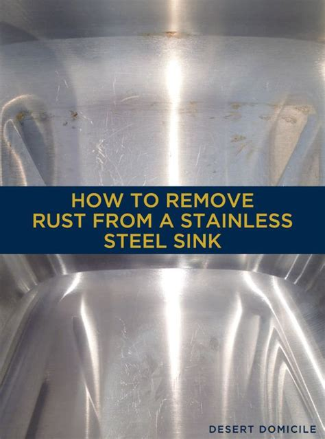 will stainless steel rust how to remove rust from a stainless steel sink pinterest
