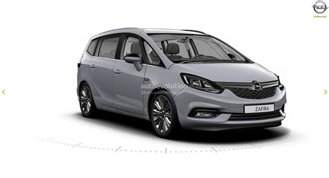 opel meriva 2017 2017 opel zafira facelift leaked on gm website here are