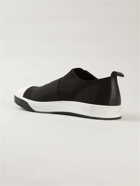 Air Max Slip Kn 01 Ace lost found slip on sneakers in black for lyst