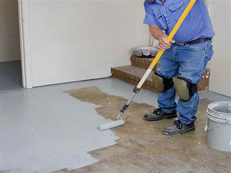 epoxy paint and your waterproofed basement floors