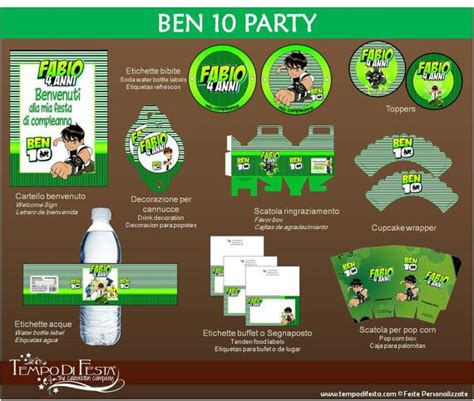 ben 10 printable party decorations 27 best ben 10 party images on pinterest