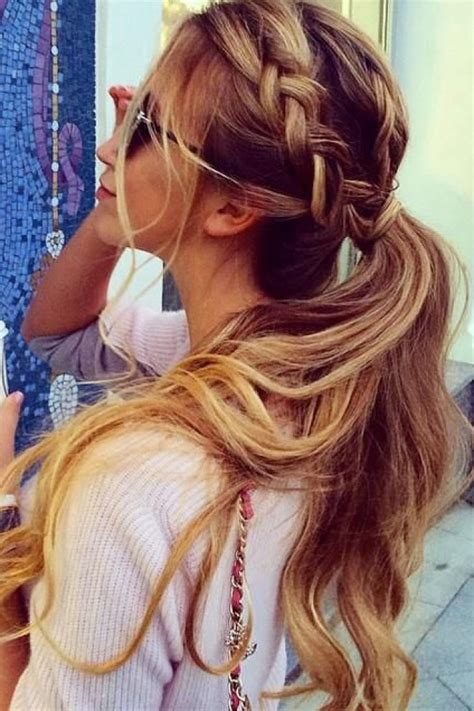 morning hairstyles for hair 99 no effort hairstyles to do thing in the morning photo album sofeminine