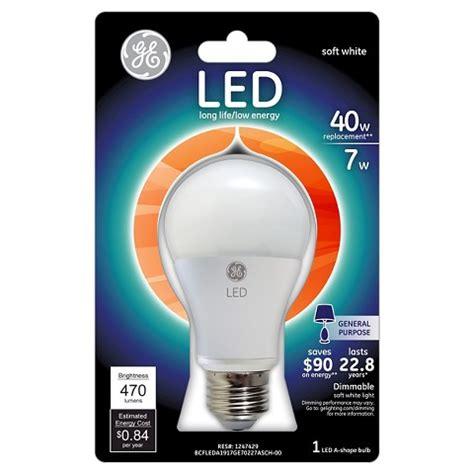 Target Led Light Bulbs Ge Led 40 Watt Light Bulb Soft White Target