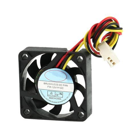 dc brushless fan motor 12v 40mm x 10mm 3pin 12v dc brushless pc computer fan