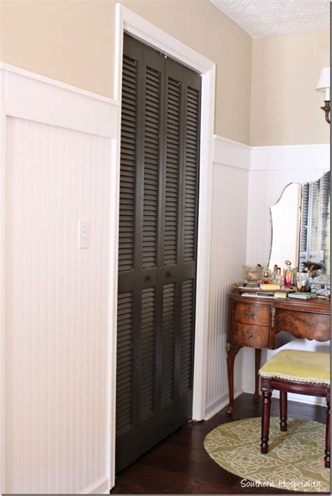Painting Louvered Closet Doors Painting Interior Doors Black Southern Hospitality