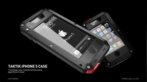 Casing Iphone 5 5s Lunatik Taktik Temperef Glass Iphone5 Lam 4 taktik premium protection system for the iphone by wilson minimal kickstarter