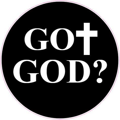 Black Stickers got god black circle sticker u s custom stickers